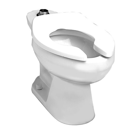 Colorado Flowise Top Spud Flush Valve Dual Flush Elongated Toilet Bowl by American Standard