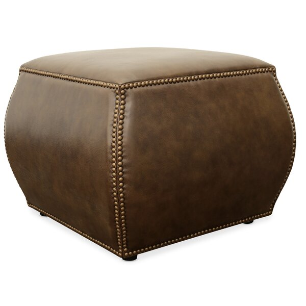 Discount Cordova Leather Cube Ottoman