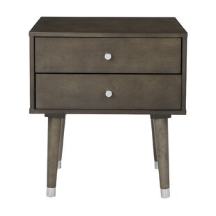 Yearby 2 Drawer End Table