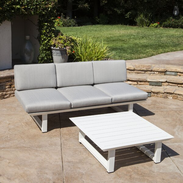 Mcclelland 2 Piece Sofa Seating Group with Cushions by Mercury Row