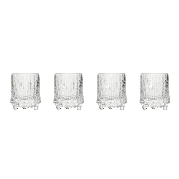 Ultima Thule Cordial 1.7 oz. Glass Shooter (Set of 4) by Iittala
