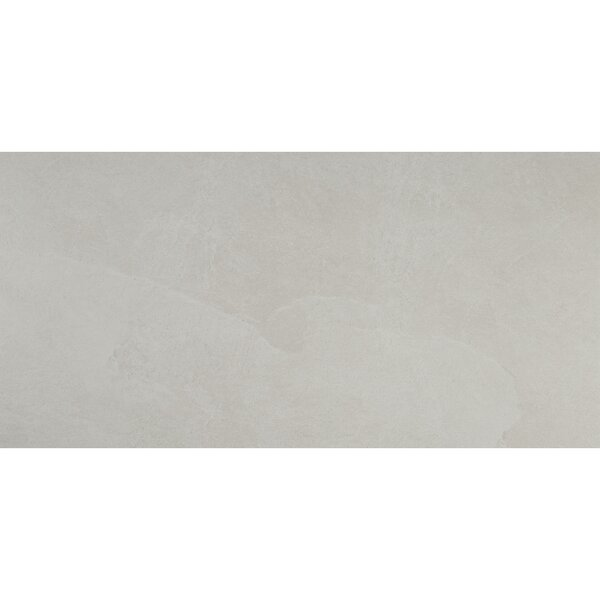 Slate Attaché 12 x 24 Porcelain Field Tile in Meta White by Daltile