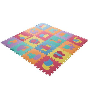 Compare & Buy Foam Floor Animal Puzzle Learning 54 Piece Floor Mat ByHey! Play!