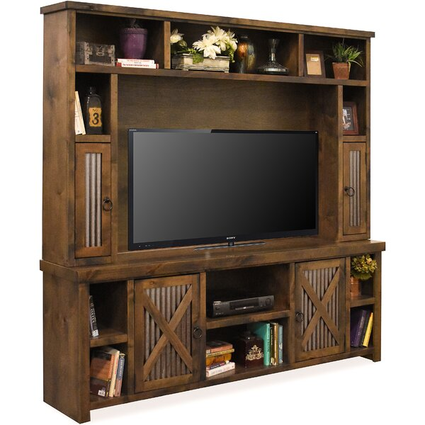 Bettie Solid Wood Entertainment Center For TVs Up To 78