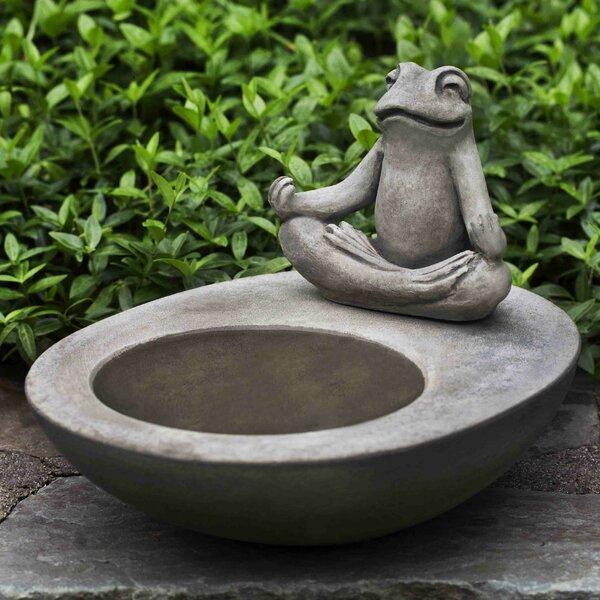 Zen Element Birdbath by Campania International
