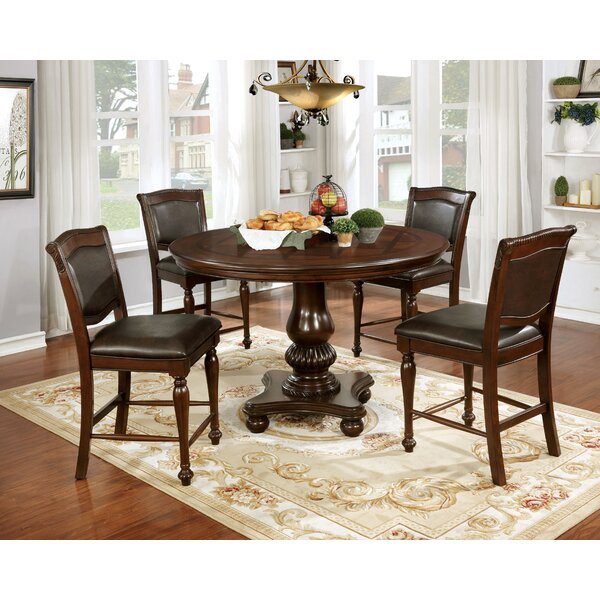 Ripple 5 Piece Dining Table Set by Astoria Grand
