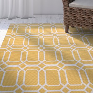Golden Gate Geometric Yellow I...