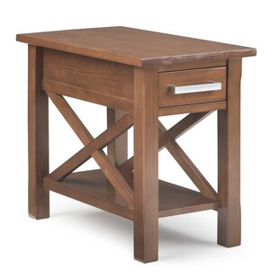 Burriss End Table with Storage