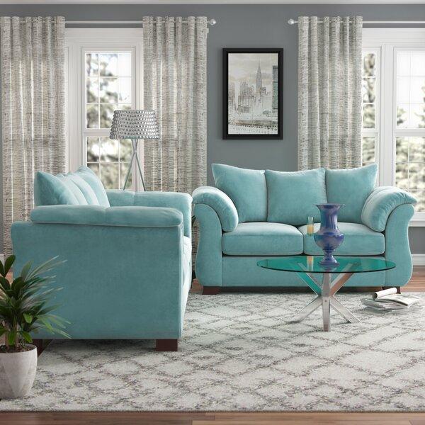 Where buy  Norris 2 Piece Living Room Set by Red Barrel Studio