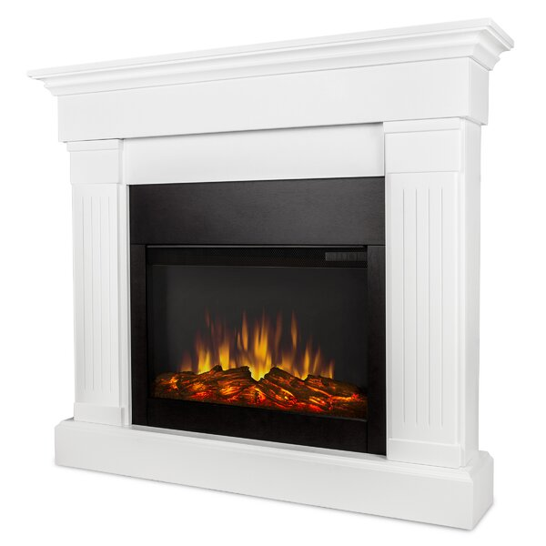 The Crawford Electric Fireplace By Real Flame.