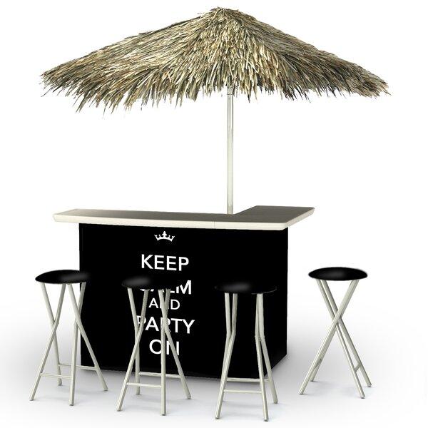 Waldron Tiki Bar Set by Bayou Breeze Bayou Breeze
