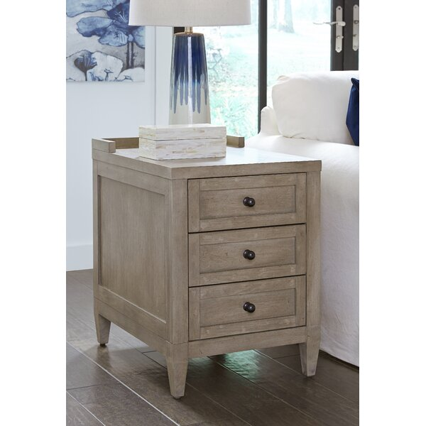 Midville 3 Drawer End Table By Gracie Oaks