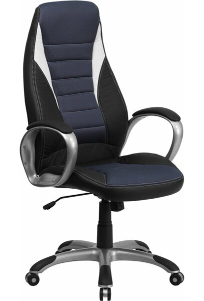 Mccree High-Back Soft Ergonomic Executive Chair by Latitude Run