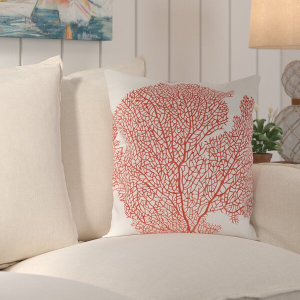 Coral Escape Throw Pillow (Set of 2) by Birch Lane™