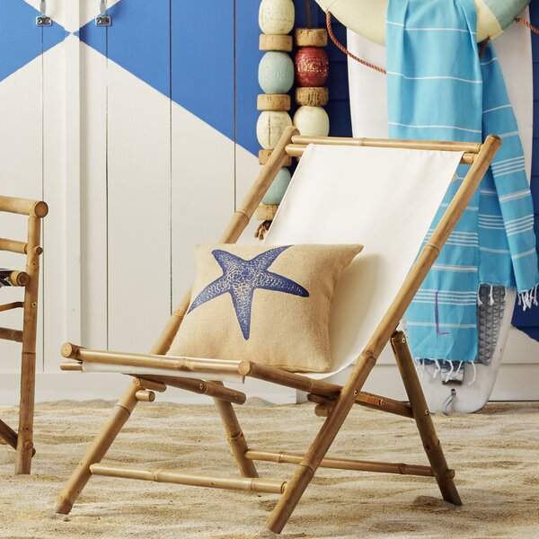 Sling Folding Beach Chair by ZEW Inc ZEW Inc