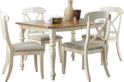Bridgeview 5 Piece Dining Set by Beachcrest Home