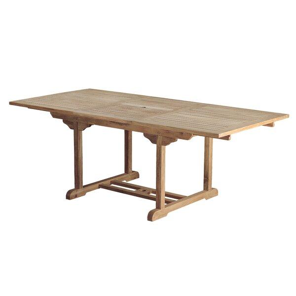 Bermuda Teak Rectangular Dining Table by Arbora Teak
