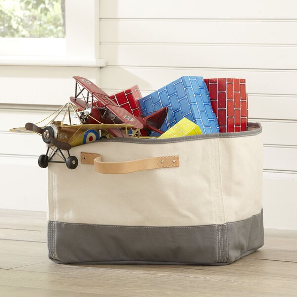 Tub Storage Bin Leather Handle by Birch Lane Kids™