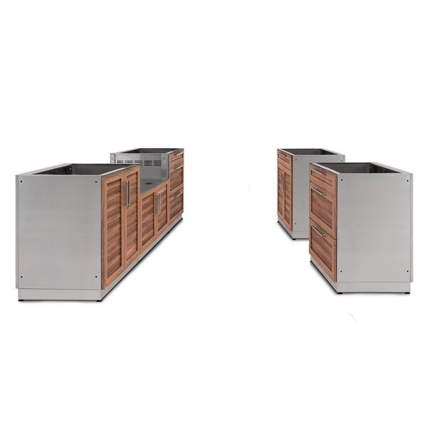 @ Kitchen 5 Piece Outdoor Bar Center Set by NewAge Products| #$4,749.99!