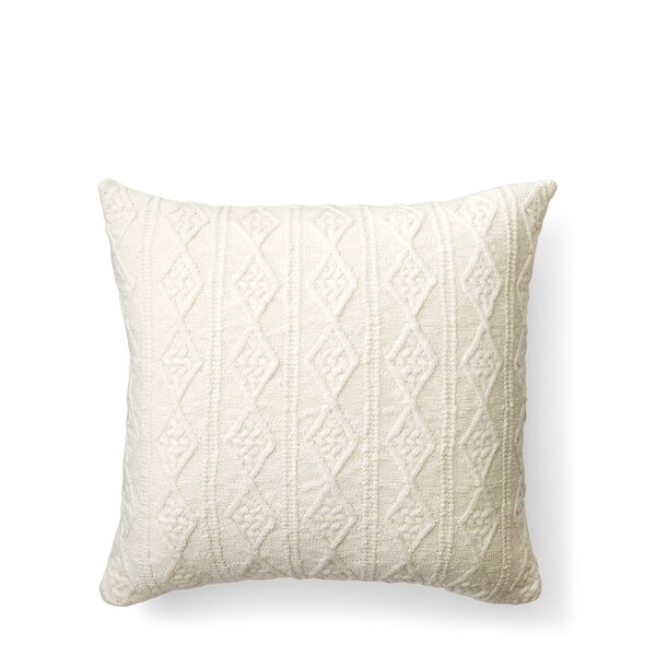 Lakeview Knit Cotton Throw Pillow by Lauren Ralph Lauren
