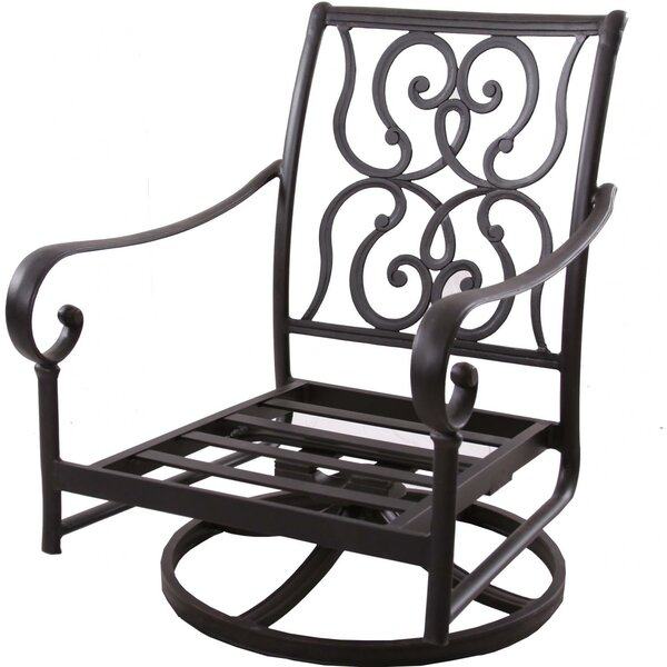 Poulin Swivel Club Chair with Cushions by Fleur De Lis Living Fleur De Lis Living