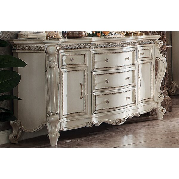 Hitton 5 Drawer Combo Dresser by Rosdorf Park