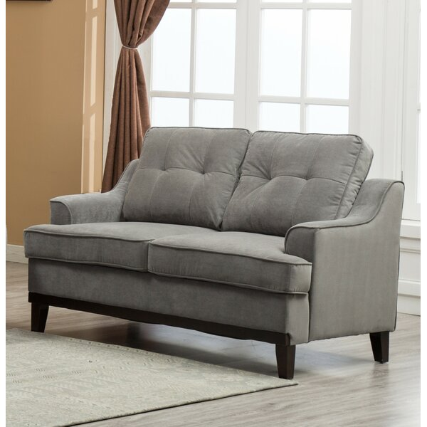 Sasha Loveseat Standard by Alcott Hill