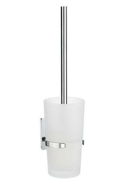 Pool Wall MountedToilet Brush and Holder by Smedbo
