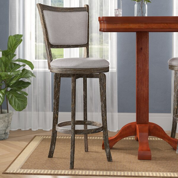 Topeka 30 Swivel Bar Stool by Darby Home Co