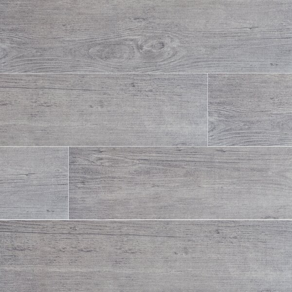 Sonoma Driftwood 6 x 24 Ceramic Wood Look Tile in Gray by MSI