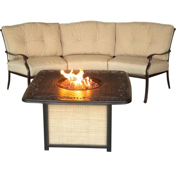 Carleton 2 Piece Sofa Set with Cushions by Fleur De Lis Living