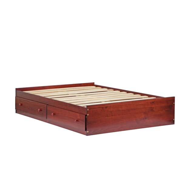 Wales Mate's & Captain's Bed with Drawers Charlton Home W000706386