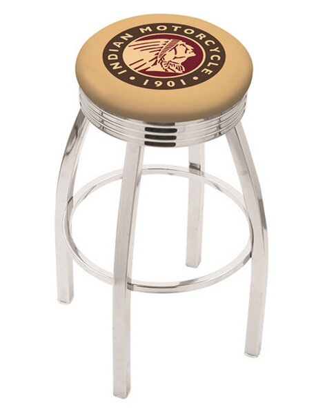 Adjustable Height Swivel Bar Stool by Holland Bar Stool