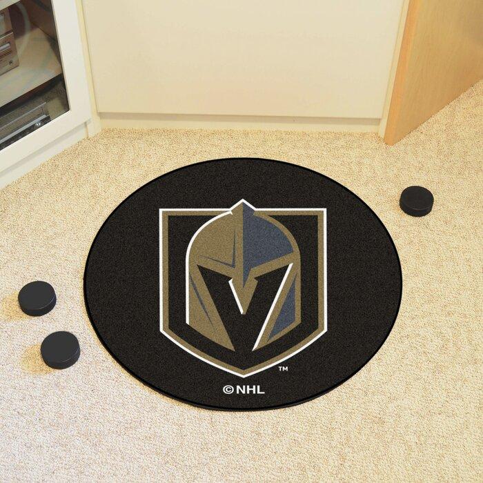 "Vegas Golden Knights Uniform Inspired 19/"" X 30/"" Starter Area Rug Floor Mat"