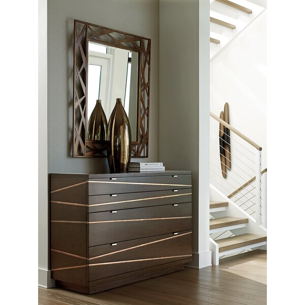 Zavala 4 Drawer Dresser with Mirror by Lexington