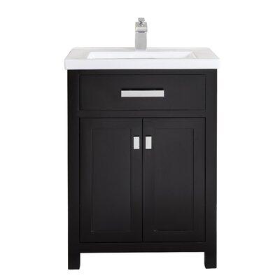 Modern 24 Inch Single Bathroom Vanities Allmodern