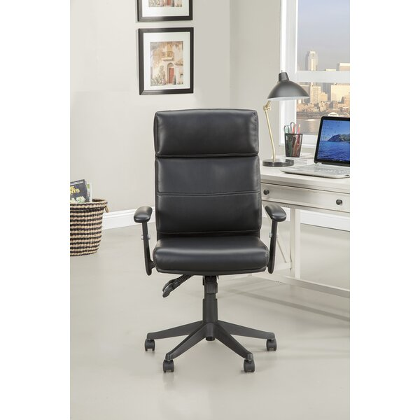 Balbo Office Chair with Adjustable Arm by Ebern Designs