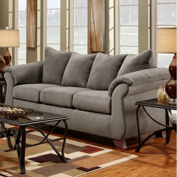 Stay On Trend This Hively Pillow Back Sofa by Charlton Home by Charlton Home