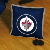 NHL Sidelines Throw Pillow by Sports Coverage Inc.