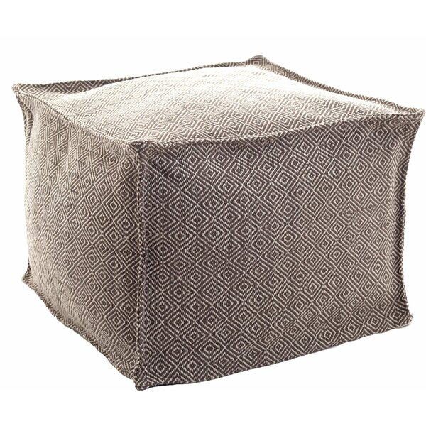 Kinsley Diamond Outdoor Ottoman by Fresh American