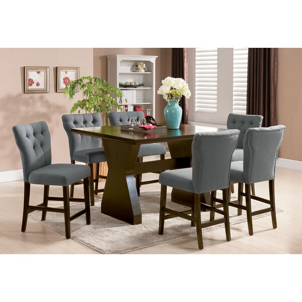 Meyersdale 6 Piece Counter Height Dining Set by Darby Home Co