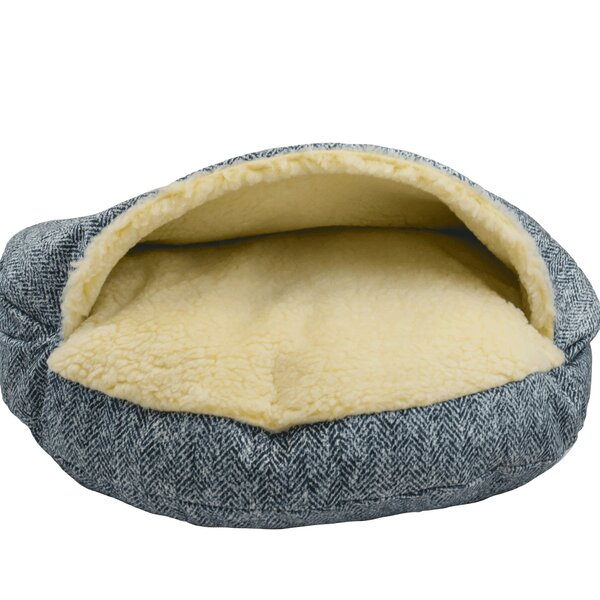 Premium Cozy Cave Hooded Dog Bed by Snoozer Pet Products