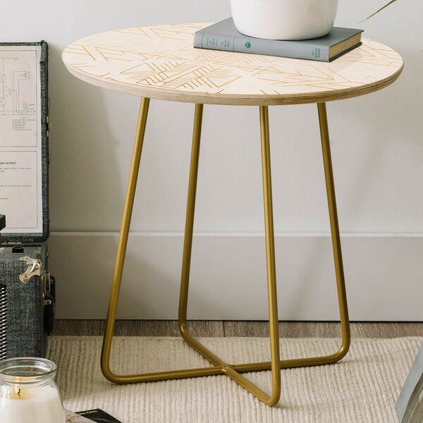 Holli Zollinger Esprit Round End Table by East Urban Home