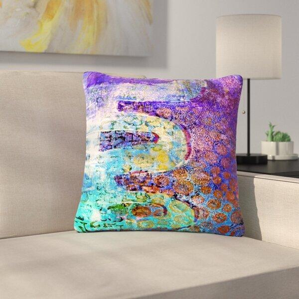 AlyZen Moonshadow Arcane 2 Outdoor Throw Pillow by East Urban Home