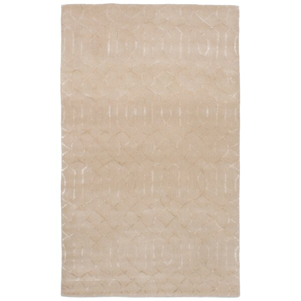 Griffing Hand-Tufted Beige/Ivory Area Rug by Ivy Bronx
