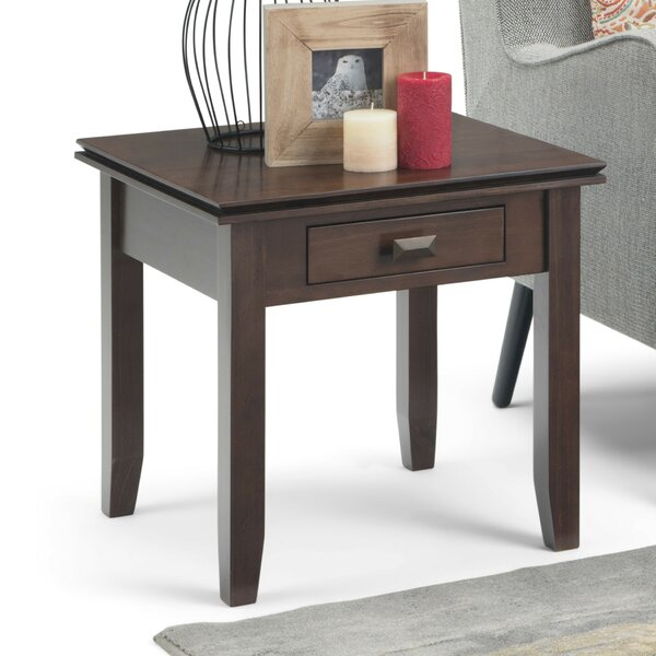 Gosport End Table with Storage by Three Posts Three Posts