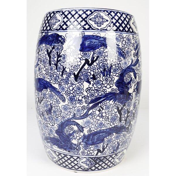 Oridatown Ceramic Garden Stool by World Menagerie World Menagerie