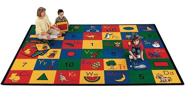 Giardina Blocks of Fun Kids Area Rug by Zoomie Kids