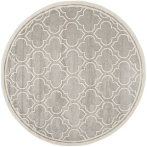 Maritza Light Gray/Ivory Outdoor Area Rug