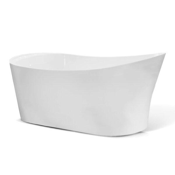 Illinois 67 x 32 Freestanding Soaking Bathtub by Jade Bath